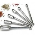 Gift List - Measuring Spoons - RSVP Spice Spoons 6-piece