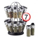 Gift List - Top Picks - Pick 7 - Olde Thompson 20-Jar Flower-Style Spice Rack