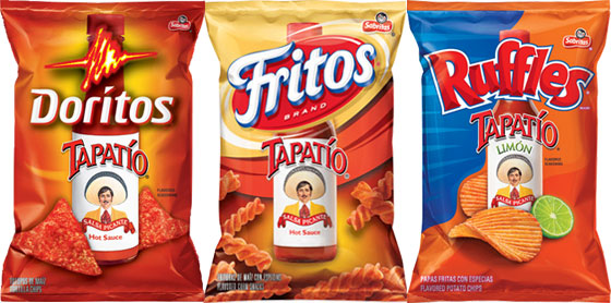 Tapatio Doritios, Tapatio Fritos, and Tapatio & Lime Ruffles Reviewed
