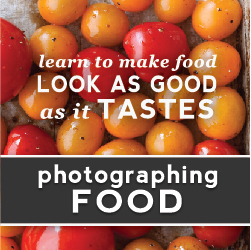 Photographing Food Course