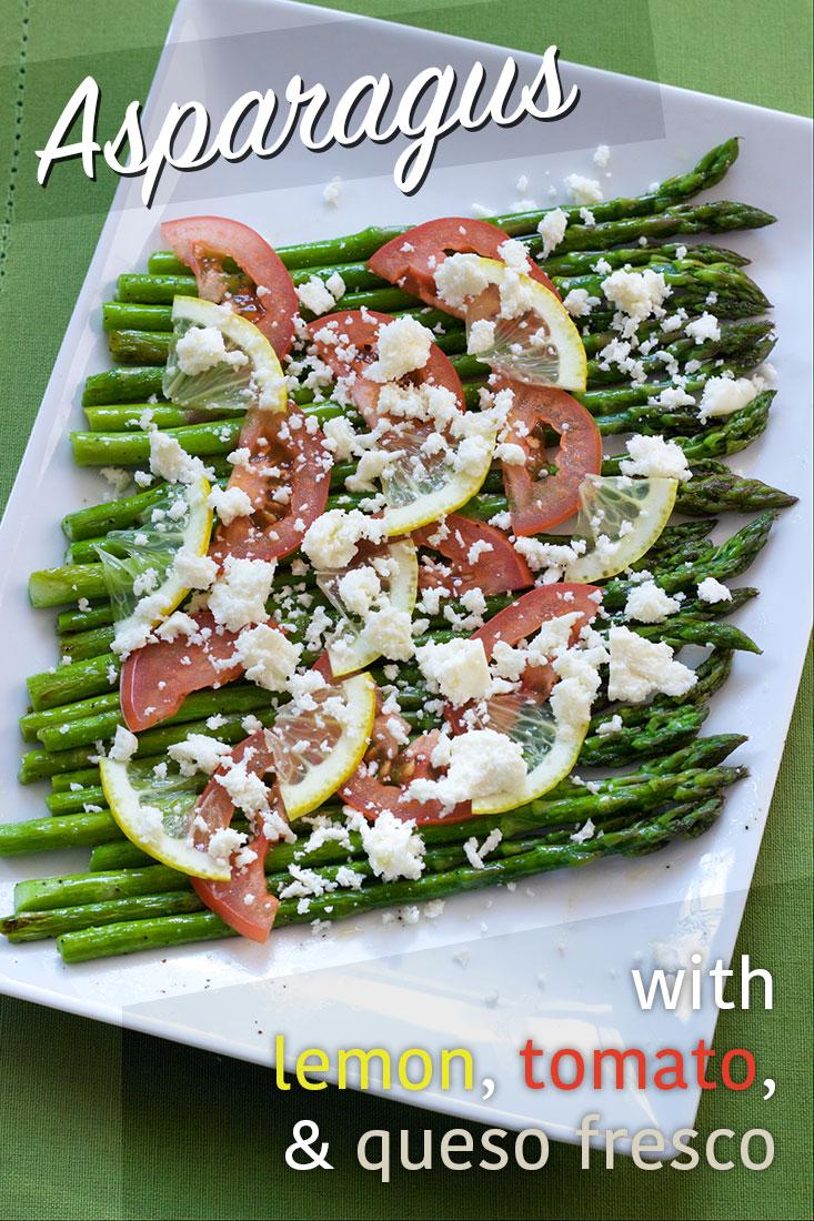 Pinterest Image for Asparagus