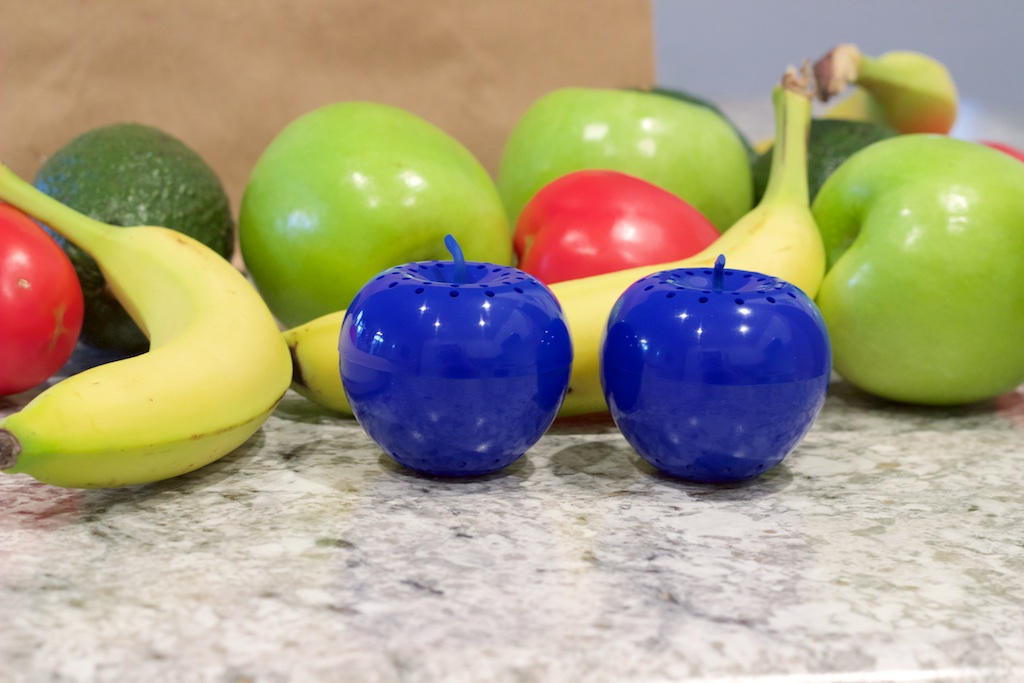 Blueapple with fruits